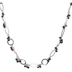Brighten the Season Holiday Shaky Bead Necklace