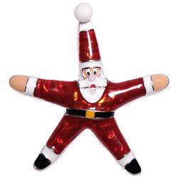 Brighten the Season Santa Starfish Pin