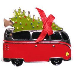 Brighten the Season Christmas Tree & Van Pin