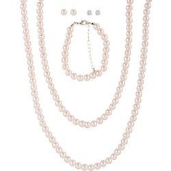 Mega Box Multiples 5-pc. Faux Pearl Necklace Set