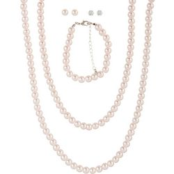 Mega Box Multiples 5-pc. Faux Pearl Necklace Set