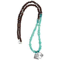 Florida Roots Stronger Than The Storm Beaded Necklace