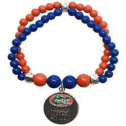Florida Gators Blue & Orange The Swamp Charm Bracelet