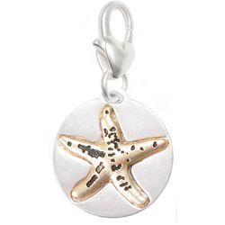 Amanda Blu Two Tone Starfish Life's A Beach Charm