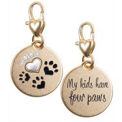 Amanda Blu My Kids Have Four Paws Charm