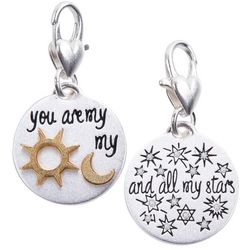 Amanda Blu Sun & Moon All My Stars Charm