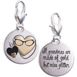 Amanda Blu Grandma Glitter Family Charm