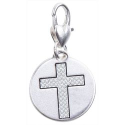 Amanda Blu Blessed Cross Charm