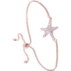Amanda Blu Cubic Zirconia Starfish Slider Bracelet