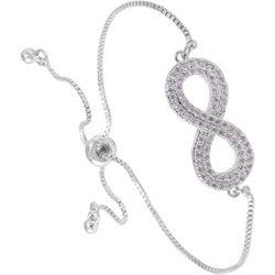 Amanda Blu Infinity Symbol Slider Closure Bracelet