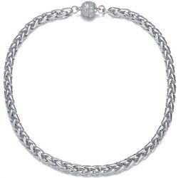 JEWELS TO JET Monaco Silver Tone Chain Necklace