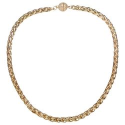 JEWELS TO JET Monaco Gold Tone Chain Necklace