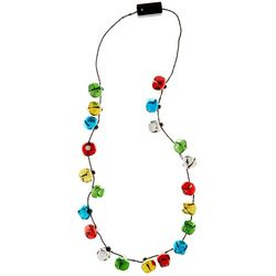 Jinglettes Flashing Jingling Holiday Necklace