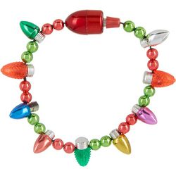 Jinglettes Holiday Light Up Bulb Bracelet