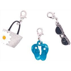 Jewelry Made By Me 3-pc. Beach Bag Charm Set