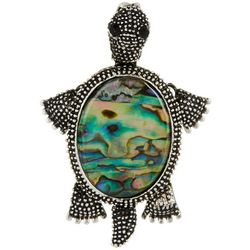 Jewelry Made By Me Abalone Turtle Pin