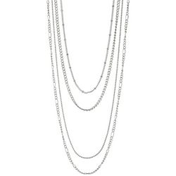 Jewelry Made By Me 4-pc. Silver Tone Chain Necklace Set