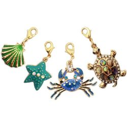 Jewelry Made By Me Gold Tone 4-pc. Sea Life Charms