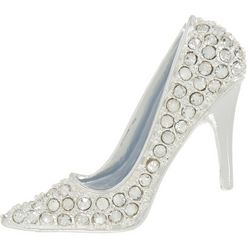 Napier Pave Rhinestone High Heel Shoe Pin