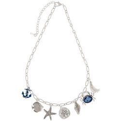 Napier Coastal Sealife Charm Necklace
