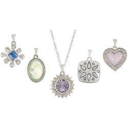 Napier 5-pc. Charm Pendant & Necklace Set