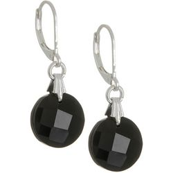 Napier Jet Theory Multi-Faceted Drop Earrings