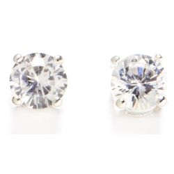 Napier Crystal Stud Earrings