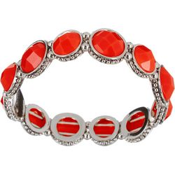 Napier Multi-Faceted Stones Stretch Bracelet