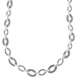 Napier Pattern Slice Multi Link Collar Necklace