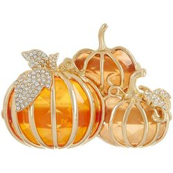 Napier Fall Harvest Pumpkin Trio Pin