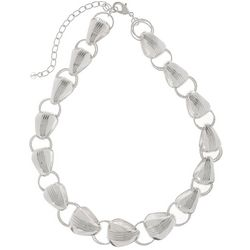 Napier Making Waves Chunky Link Collar Necklace