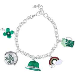 Napier St Patty Day Multi Charm Bracelet
