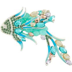 Napier Rhinestone Tropical Fish Brooch