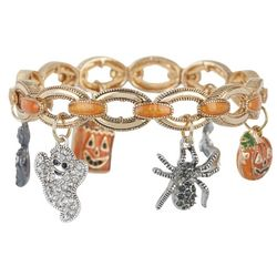 Napier Halloween Ghostly Goblins Stretch Bracelet