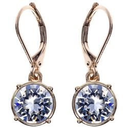 Gloria Vanderbilt Crystal Elements Drop Earrings