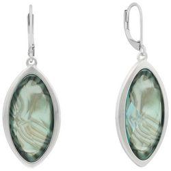 Gloria Vanderbilt Marquis Drop Earrings