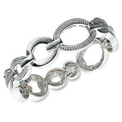 Gloria Vanderbilt Stretch Oval Link Bracelet