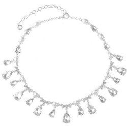 Gloria Vanderbilt Multi Dangle Teardrop Necklace