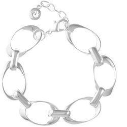Gloria Vanderbilt Open Oval Link Bracelet