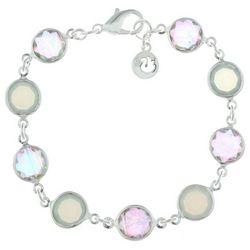 Gloria Vanderbilt Pastel Channel Link Sparkle Bracelet