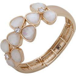 Gloria Vanderbilt Flower Strech Bracelet