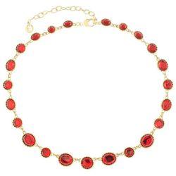 Gloria Vanderbilt Gold Tone Siam Linked Collar Necklace