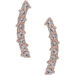 You're Invited Mini Crystal Pierced Ear Crawler