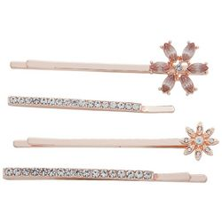 You're Invited 4-pc. Rhinestone Hair Clips