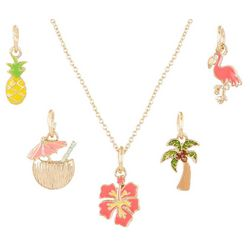 Bay Studio 5-pc. Flamingo Pineapple Tropical Necklace Set