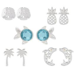 Bay Studio Multiples 5-pc. Dolphin Earring Set
