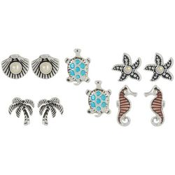 Bay Studio Sea Life Earring Set