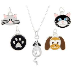 Bay Studio Multiples 5-pc. Cat & Dog Necklace Set