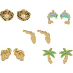 Bay Studio Multiples Florida Beach Earring Set