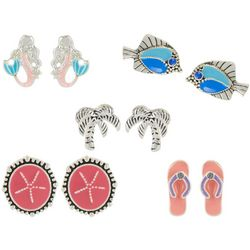 Bay Studio Multiples Coastal Earring Set